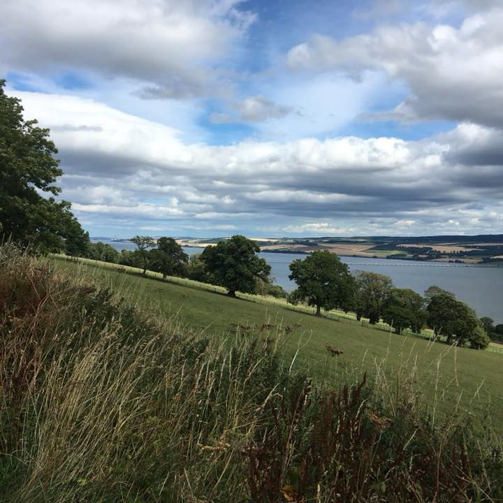 views over the cromarty firth