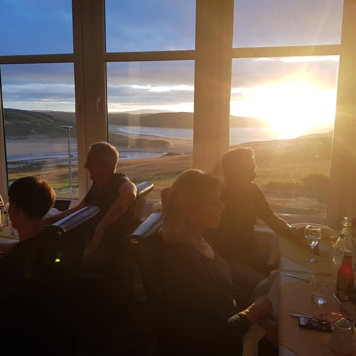 picture of sunset at bettyhill