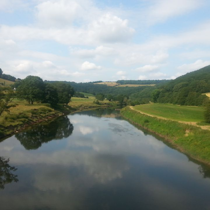 A river in the Wye Valley